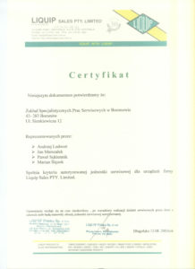 certyfikat-liquip