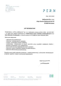 naftoserwis.pl referencje pern modernizacja rozdzielnic przyzbiornikowych