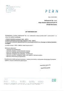 naftoserwis.pl referencje pern remont oswietlenia pompowni