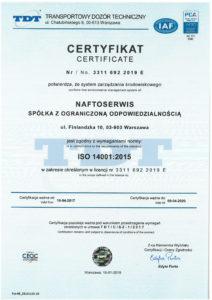 2. certyfikat 14001 z PCA-2019