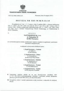 Decyzja TDT nr TDT-WMN-5119
