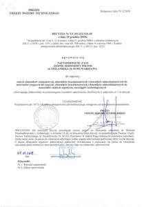 Decyzja UDT nr UC-03-213-N6-18
