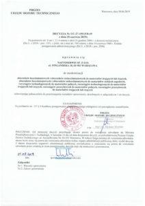 Decyzja UDT nr UC-27-195-P8-19