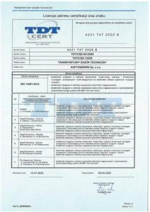 license 14001