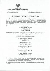 Decision TDT no TDT-W/M/N-51/19 1/5