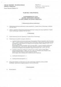 Decyzja UDT nr UC-03-213-P/5-18 2/6