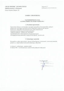 Decision UDT no UC-27-195-W/2-19 4/4