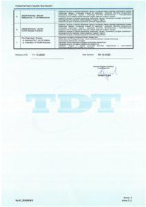 licencja na certyfikat 22301 2/2