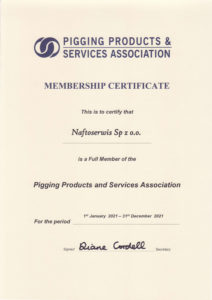 Naftoserwis Sp. z o.o. PPSA certifcate 2021