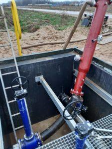 Adaptacja rurociągu (montaż komory nadania/odbioru) pod inspekcję tłokiem typu KALIBRAK