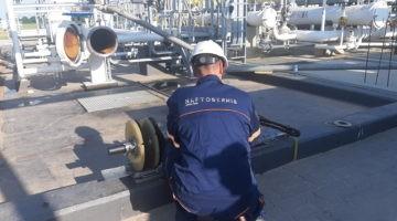 Przygotowanie tłoka KALIBRAK przed startem inspekcji